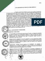 Concesión del Contrato de Línea Amarilla y Anexos