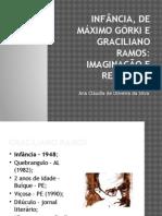 INFÂNCIA, De Máximo Górki e Graciliano Ramos