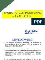 Sajjad Akhtar Project CYCLE, Monitoring & Evaluation