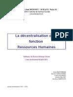 Decentralisation Rh