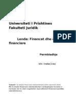 E Drejte Financiare-Permbledhje
