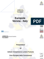 Presentation of Europole 2014