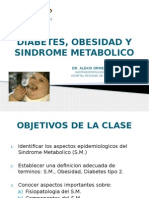 Diabetes, Obesidad y Sindrome Metabolico