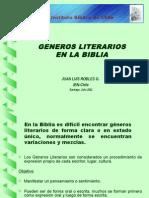 Juan RoblesGeneros Literarios