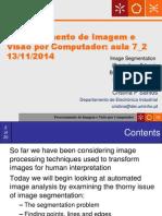 07 VC DI 2014 2015 ImageProcessing10-Segmentation Thresholding Aula7!12!11 2014 2