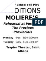 moliere audition sign