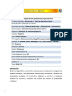 DCA-733 Reología de sistemas dispersos