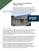 La Diputacion Inaugura Y Cede Dos Casas Modulares Turisticas En La Localidad De Taliga