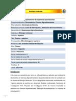 DCA-740 Biología molecular