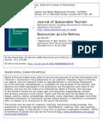 Jim Butcher Ecotourism as Life Politics