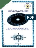 Apreciaciones Sobre El Simbolismo Astrológico