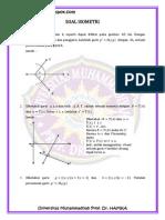Latihan Soal Isometri