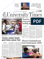 The University Times - February 16, 2010