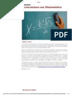 Matriz Matematica Ifs