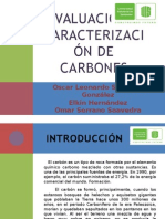 244627637 Exposicion Piro Evaluacion y Caracterizacion de Carbones Pptx