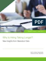 Why Is Hiring Taking Longer?