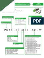 SENSOR SENSE - PS2-12GI50-N4-V1