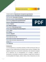 DCA-743 Microbiología de biorreactores