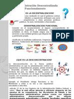 La Administración Descentralizada Funcionalmente
