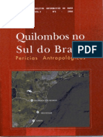 Quilombos No Sul Do Brasil