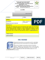 Formato Columnas - practica word