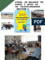 Reunión Estatal de Balance Supervisores y Jefes de Sector