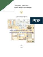Modelos e Tecnicas para projetar espaços de habitação