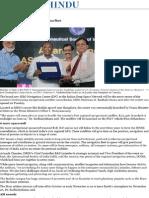 ISRO Unveils Hub for Its Navigation Fleet - The Hindu