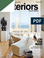 Modern Luxury Interiors California 2013 Spring