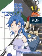 Anime Boston Program Guide 2004