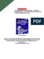 Libros - 101 Negocios en Internet