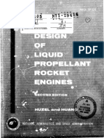 Design of Liqiud Propellant Rockets