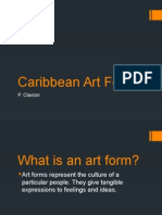 Caribbean Art Forms