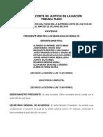 Junio 23 2015 Versión de La Sesión Del Pleno de La Scjn Amparo en Revisión 295 2014 Ley General de Servicio Profesional Docente