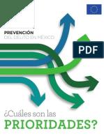 Estudio - Prevencion Del Delito en Mexico Cuales Son Las Prioridades
