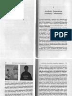 Jacques Rancière - Aesthetic Separation, Aesthetic Community