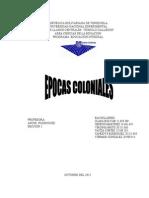 TRABAJO DE LAS EPOCAS COLONIALES.doc