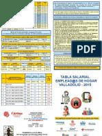 Tabla Salarial Servicio Domestico 2015