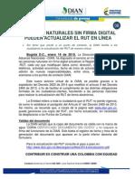 08 Comunicado de Prensa 16012015 Actualizacion Rut x Internet