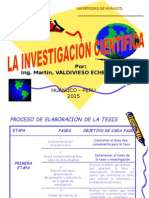 Elaboracion de La Tesis