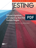 Risk Parity Investing
