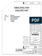 VP 18 101 c 231 001ab Sk 010 Turbine Control System Cause & Effect Chart