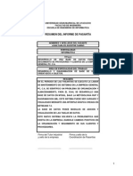 Informe de Pasantias Juan Agostini