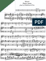 Parto, Parto - W. a. Mozart