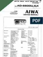 Aiwa AD6600 Cass