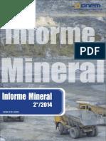 DNPM, 2014 -Informe Mineral