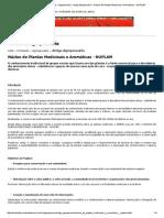 Ambiente Brasil » Conteúdo » Agropecuário » Artigo Agropecuário » Núcleo de Plantas Medicinais e Aromáticas - NUPLAM