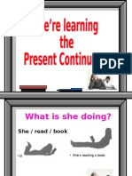 Present Continuous Final