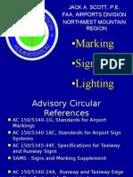 Sign Mark Light FAA