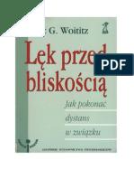 Janet G. Woititz - Lęk Przed Bliskoscią